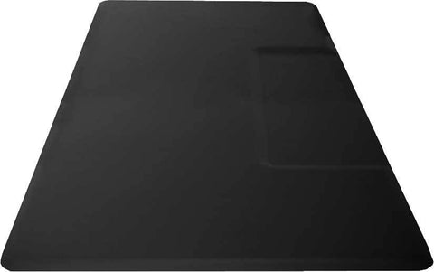 "Rectangular 1"" Anti Fatigue Salon Mat W/ Square Cut Out"