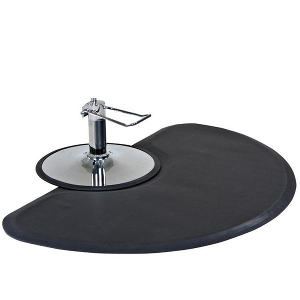 Icarus Semi-Circle Salon Anti-Fatigue Mat Mats Comfy Mats
