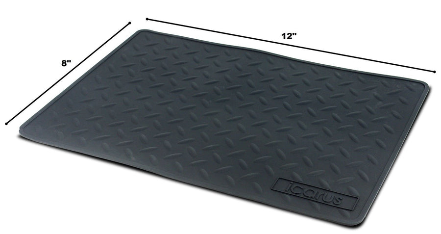 "Icarus Silicone Heat Resistant Proof Tool Mat 8"" x 12"" Heat Resistant Accessories Icarus Default Title"