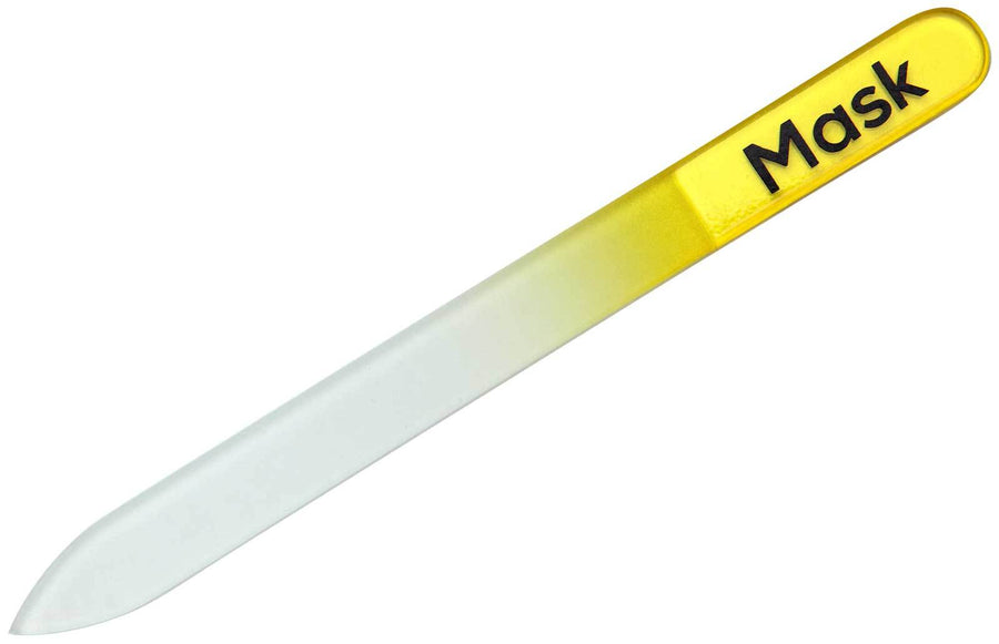 Mask Glass Nail File Nail Files, Buffers, & Curettes Mask Yellow