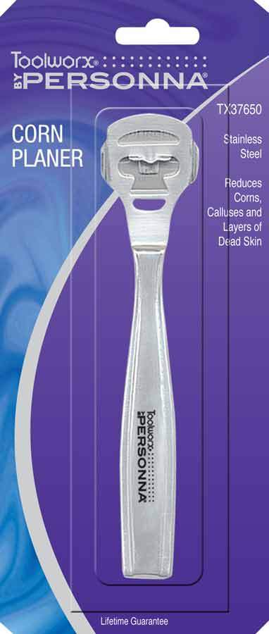 Toolworx Stainless Steel Corn Planer Pedicure Files & Callus Smoothers Toolworx Default Title