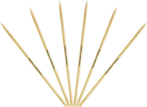 Toolworx Manicure Sticks - 6 ct