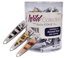 Satin Edge Wild Collection Nail Clippers - 72 ct Nail Clippers & Scissors Satin Edge Default Title