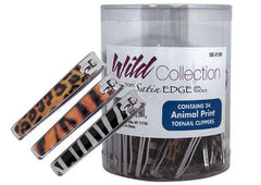 Satin Edge Wild Collection Toenail Clippers - 24 ct