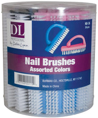 DL Professional Nail Brushes - 36 ct