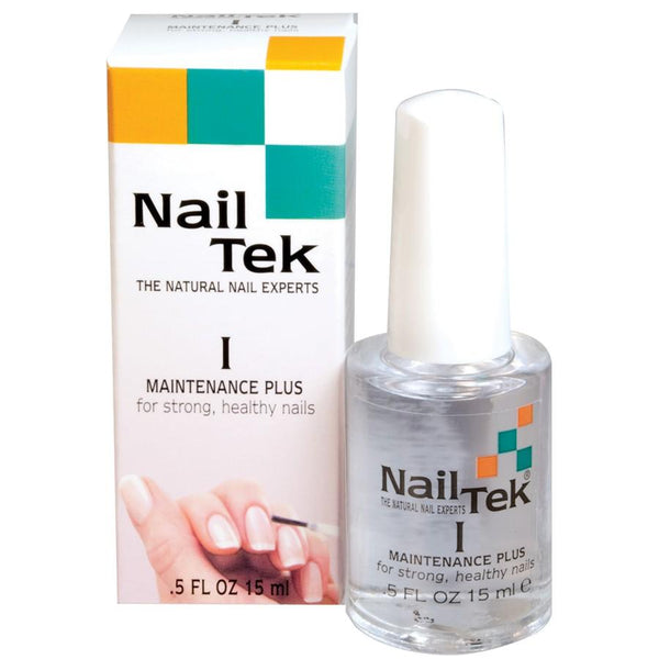 Nail Tek Maintenance Plus I for Strong, Healthy Nails Nail Treatments Nail Tek Default Title
