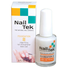 Nail Tek Foundation II for Soft, Peeling Nails Nail Treatments Nail Tek Default Title