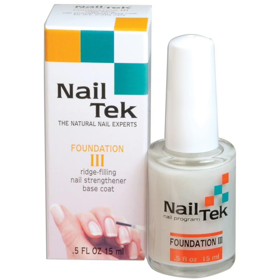 Nail Envy Vs Nail Tek: Nail Tek Foundation III For Dry, Brittle Nails