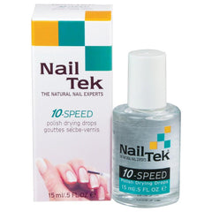Nail Tek 10-Speed Polish Drying Drops Base & Top Coats Nail Tek Default Title