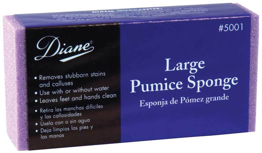 Diane Large Pumice Sponge - Assorted Colors Pedicure Files & Callus Smoothers Diane Default Title