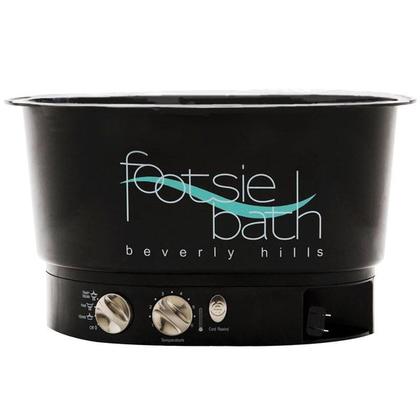 Footsie Bath Black Pedicure Foot Spa