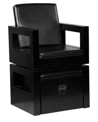 "Icarus ""Apex"" Salon Pedicure Spa Chair With Foot Rest"