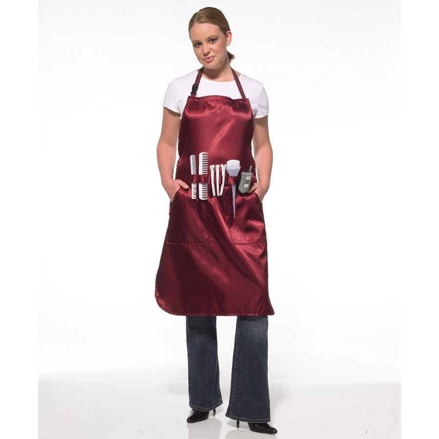 Olivia Garden Pro-Tech All Purpose Apron Stylist Apparel Olivia Garden Burgundy