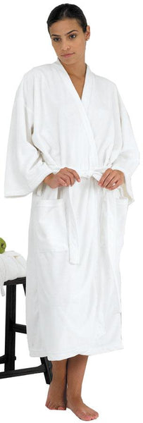 Canyon Rose Women's Long Spa Robe Client Robe Canyon Rose XL White
