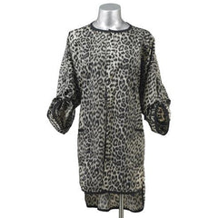Beauty Love Under Cover Client Wrap Client Robe Beauty Love Black Leopard