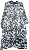 Icarus Professional Reversible Styling Salon Cape with Snaps, Zebra Cutting Cape Icarus Default Title