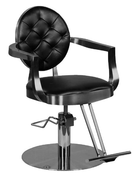 Quot Lively Quot Vintage Hair Salon Styling Chair With Round Base
