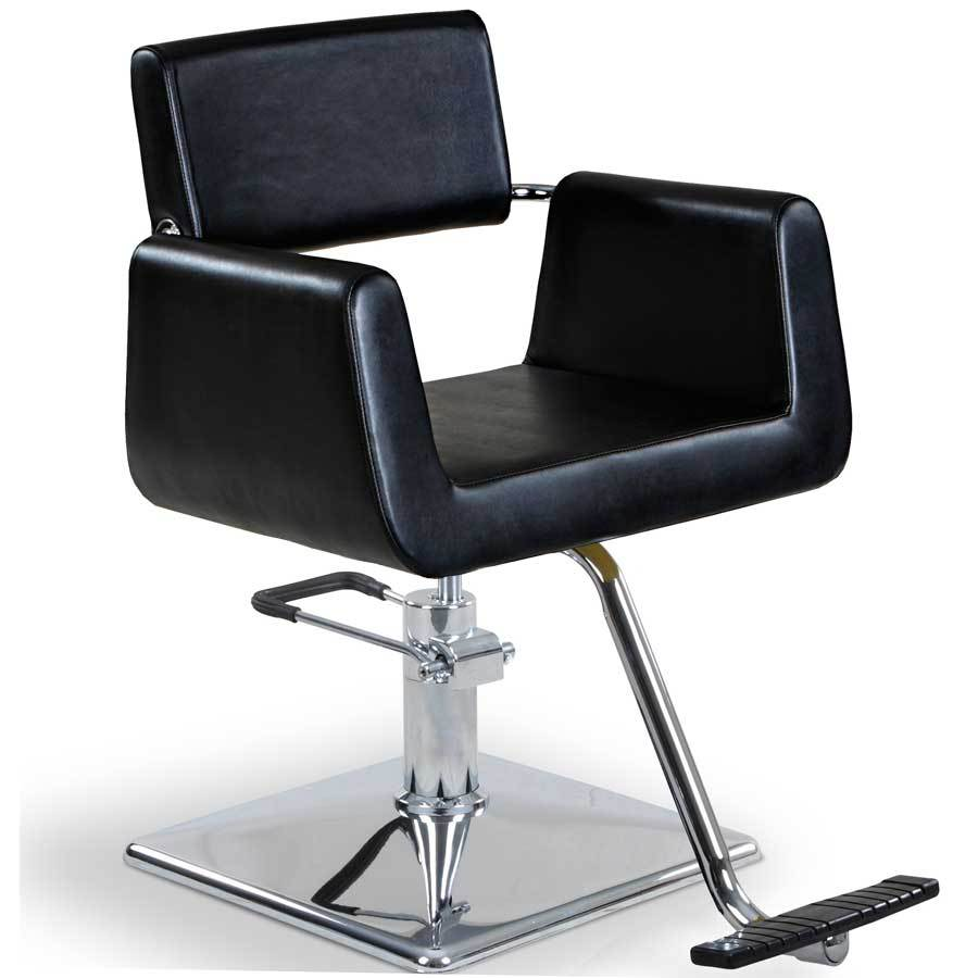 """Hepburn"" Beauty Salon Styling Chair Styling Chairs Icarus Square Base"
