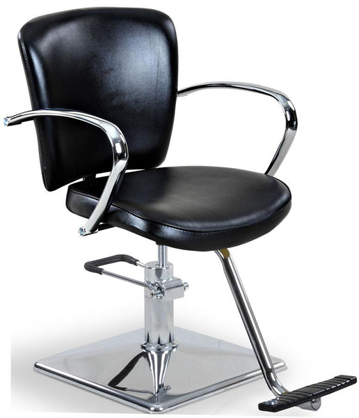 """Andrews"" Beauty Salon Styling Chair Styling Chairs Icarus Square-Base"