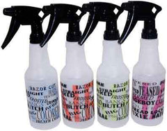 B&B Salon Graffiti Spray Bottle - 16oz Spray & Applicator Bottles Tolco Graffiti Gray