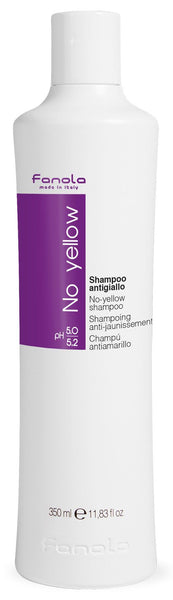 Fanola No Yellow Shampoo or Mask Hair Shampoos Fanola Shampoo, 350 ml