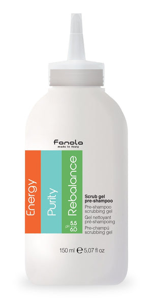 Fanola Scrub Gel Pre-Shampoo, 150 ml Hair Shampoos Fanola 150 ml