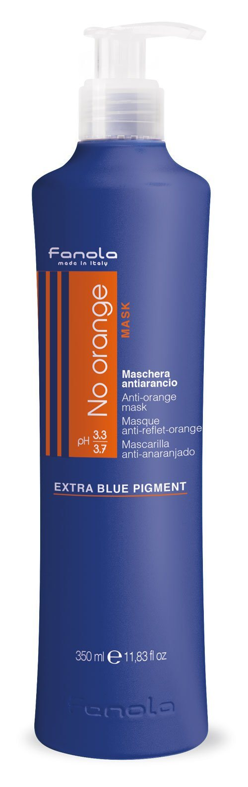 Fanola No Orange Shampoo or Mask Hair Shampoos Fanola Mask, 350 ml