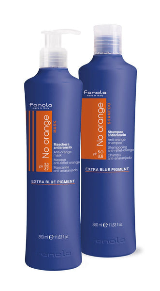 Fanola No Orange Shampoo & Mask Hair Conditioners Fanola 350 mL