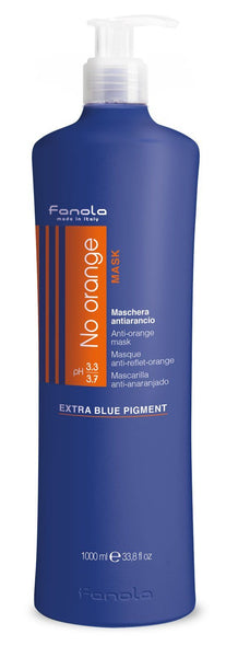Fanola No Orange Shampoo or Mask Hair Shampoos Fanola Mask, 1000 ml