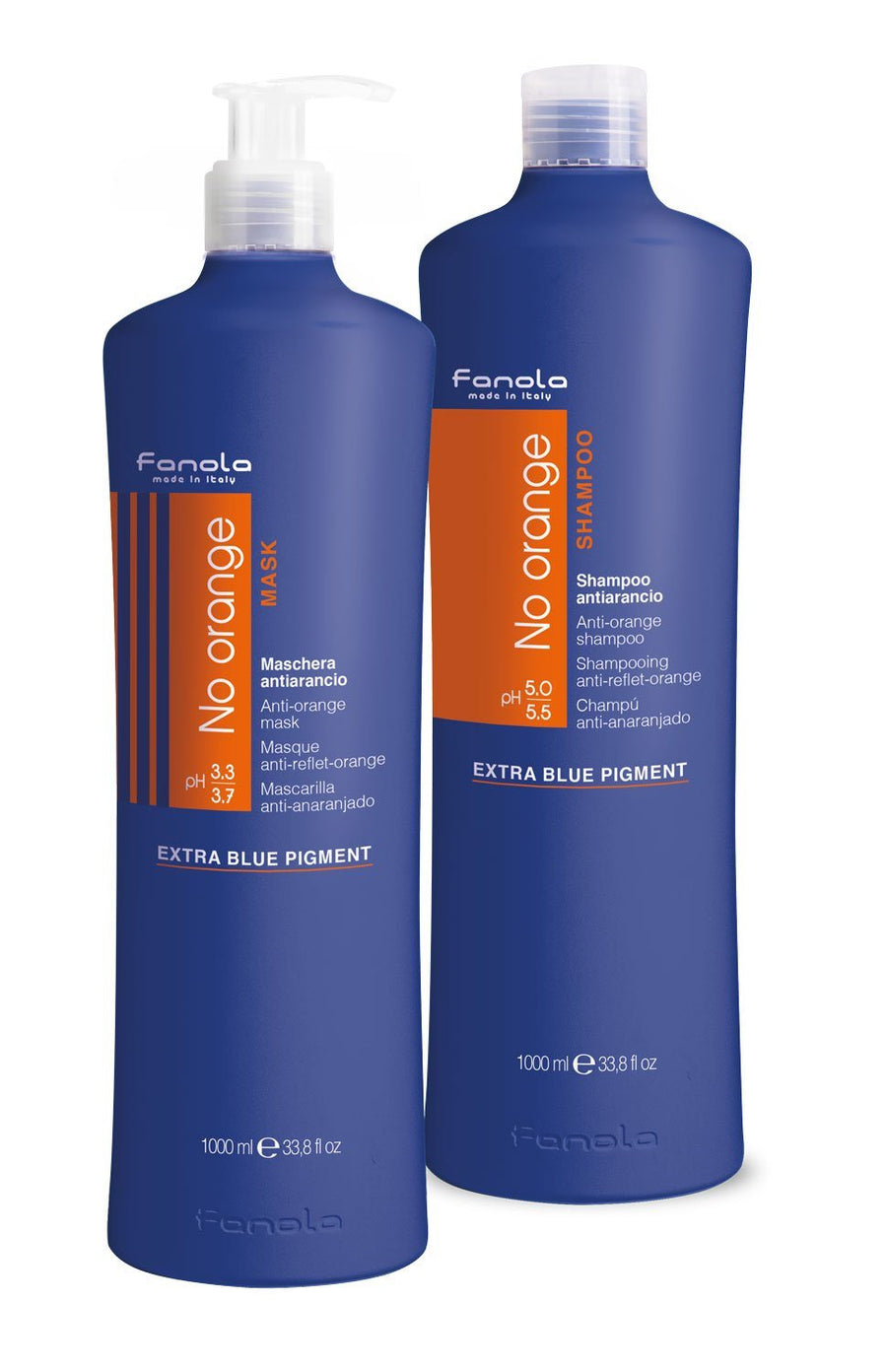Fanola No Orange Shampoo & Mask Hair Conditioners Fanola 1000 mL