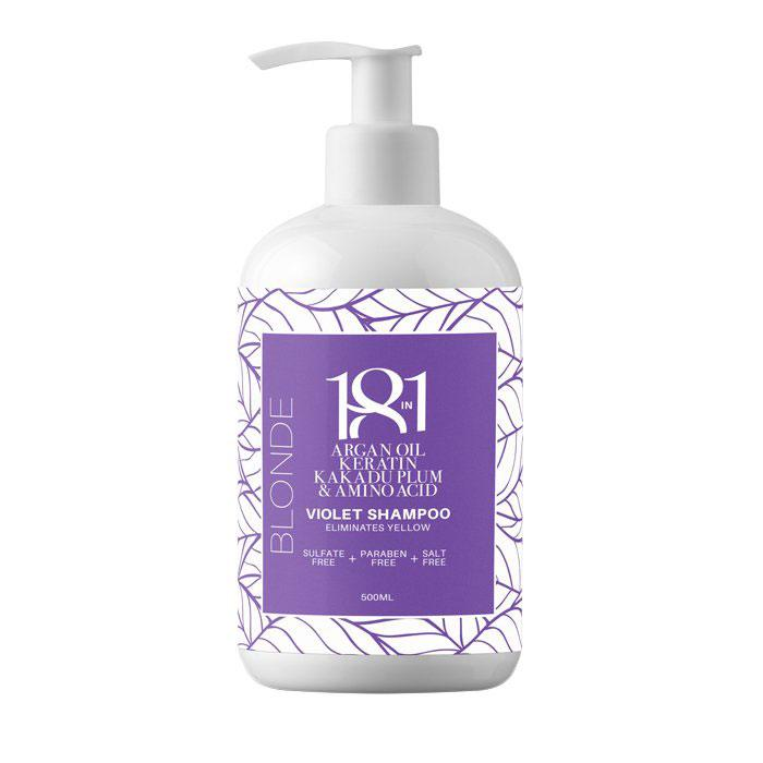 18 in 1 Violet Shampoo, 500 ml Hair Shampoos 18 in 1 Default Title