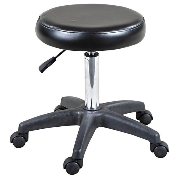 """Shelby"" Classic Hydraulic Salon Stool Stools Icarus"