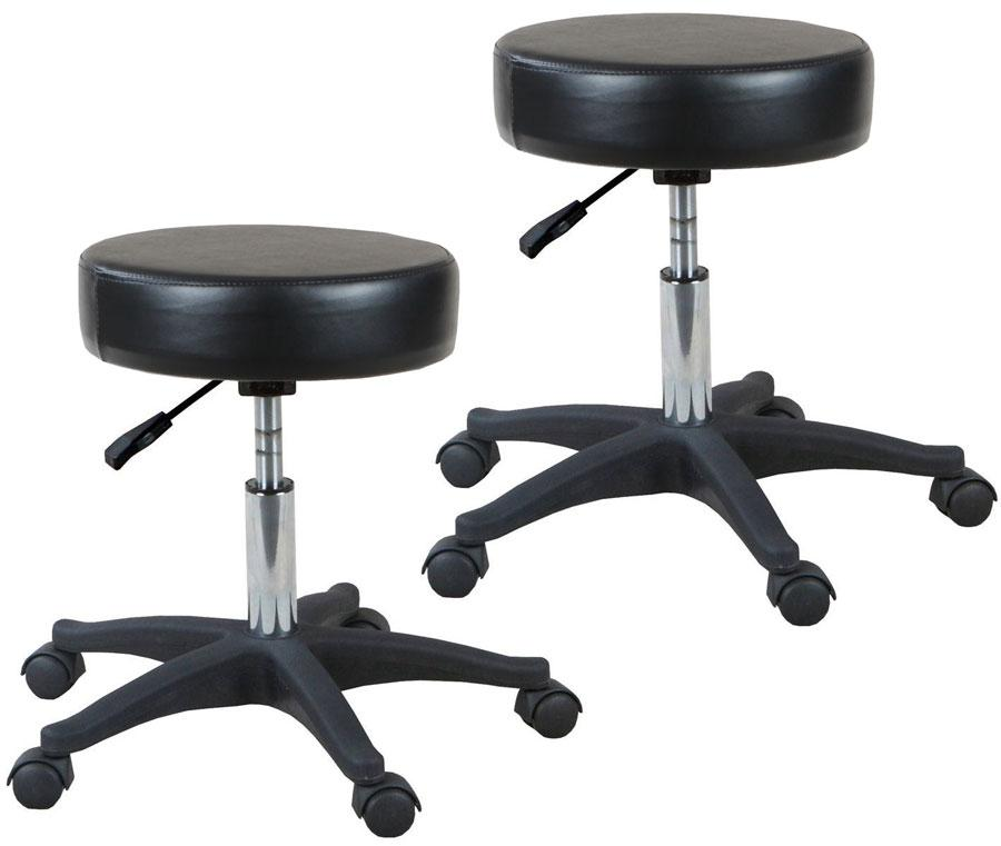 "2 Qty ""Shelby"" Classic Hydraulic Salon Stool Stools Icarus Default Title"
