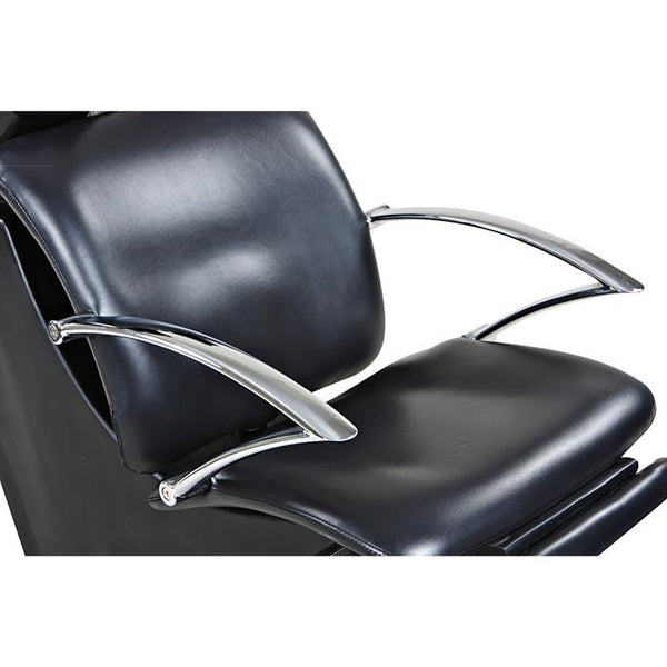 """Davis"" Black Beauty Salon Shampoo Chair & Sink Bowl Unit"
