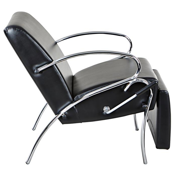 """Spartan"" Lounge Reclined Hair Salon Shampoo Chair w/ Footrest Shampoo Chairs Icarus"