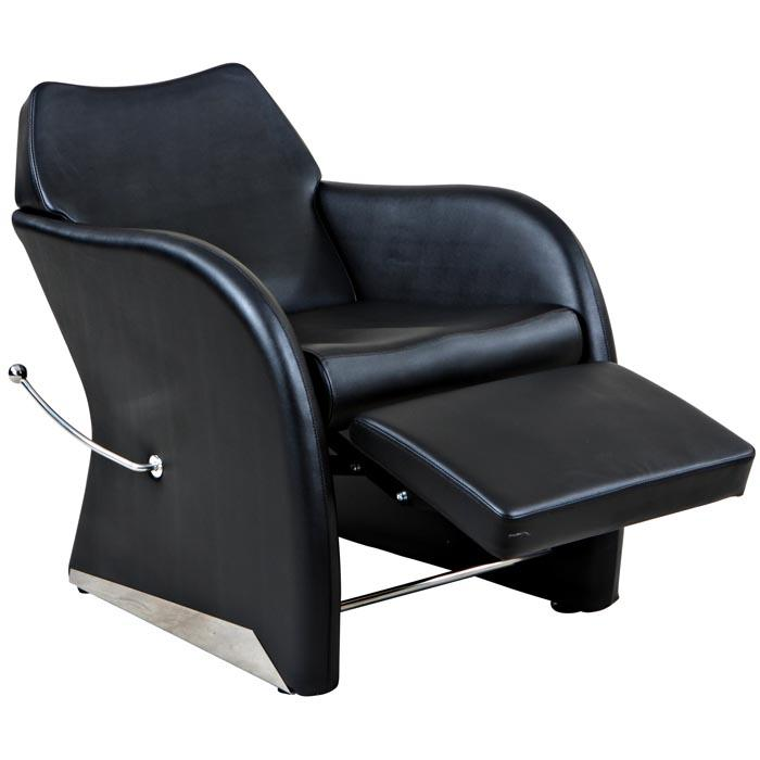 """Leisure"" Reclined Beauty Salon Shampoo Chair w/ Footrest Shampoo Chairs Icarus"