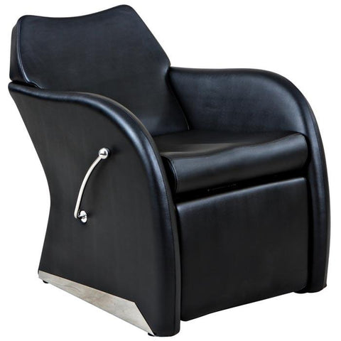 """Leisure"" Reclined Beauty Salon Shampoo Chair w/ Footrest"