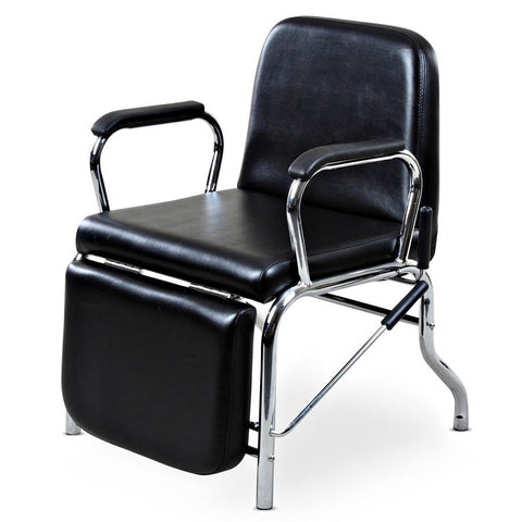 """Liger"" Reclining Hair Salon Shampoo Chair w/ Footrest"