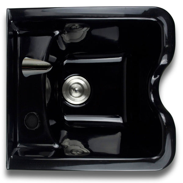 Square ABS Shampoo Bowl With Faucet and Sprayer
