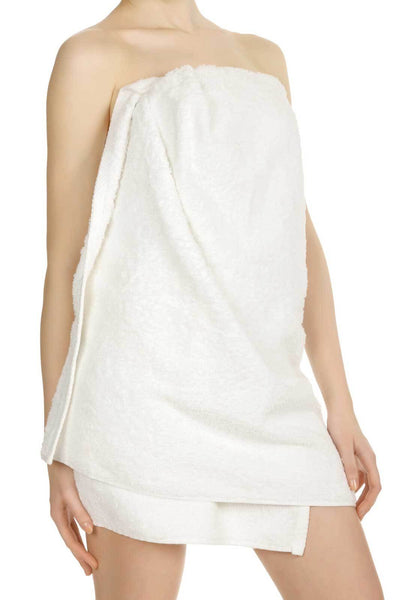 Comfy White Microfiber Body Towel - 29