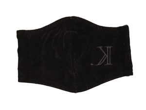 K. Signature Face Mask (Black Velvet)