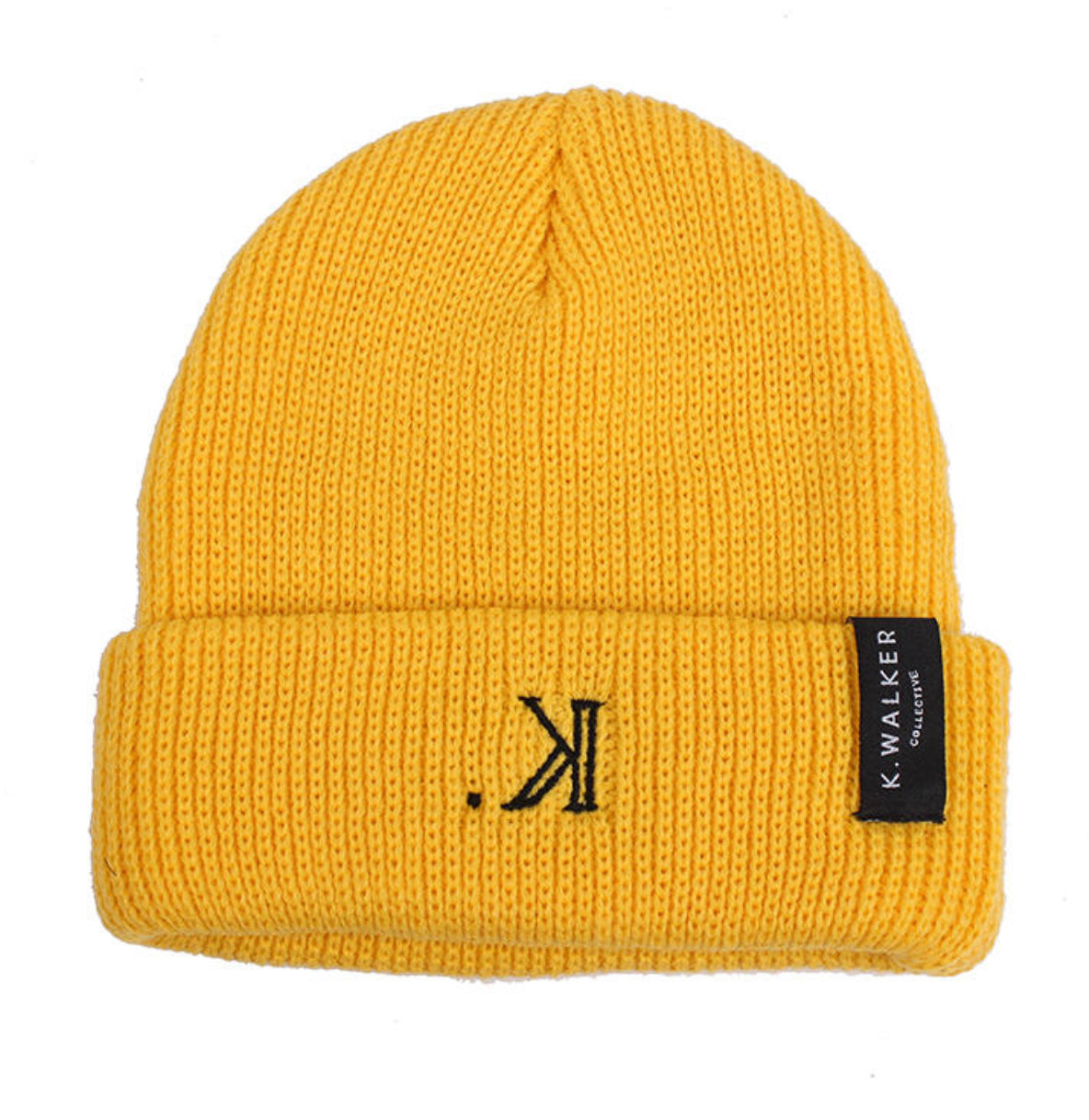 K. Signature Beanie (Yellow)