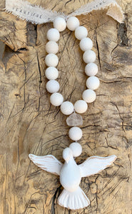 OCEAN SOUL - GEMSTONE GOOD INTENTION DOVE MALA 1