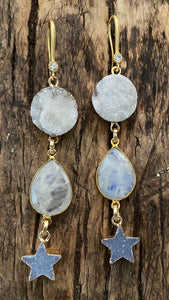 OCEAN SOUL - DRUZI EARRINGS