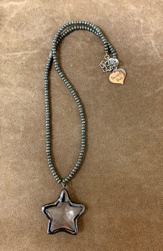 Simply Beautiful - Soldered Star Necklace