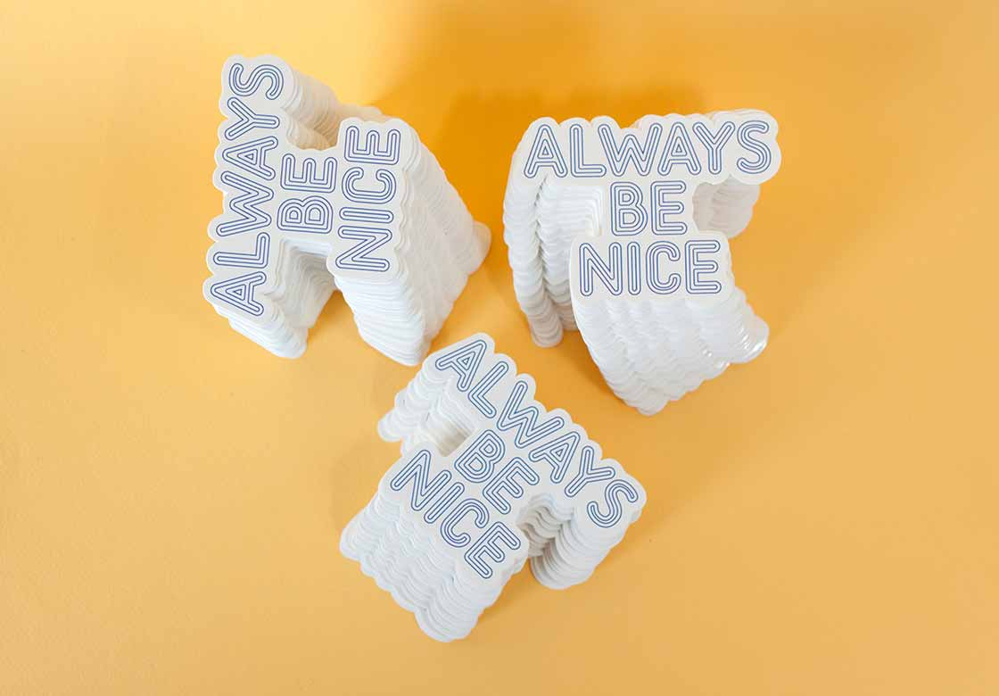 Always Be Nice Sticker Pack (10)