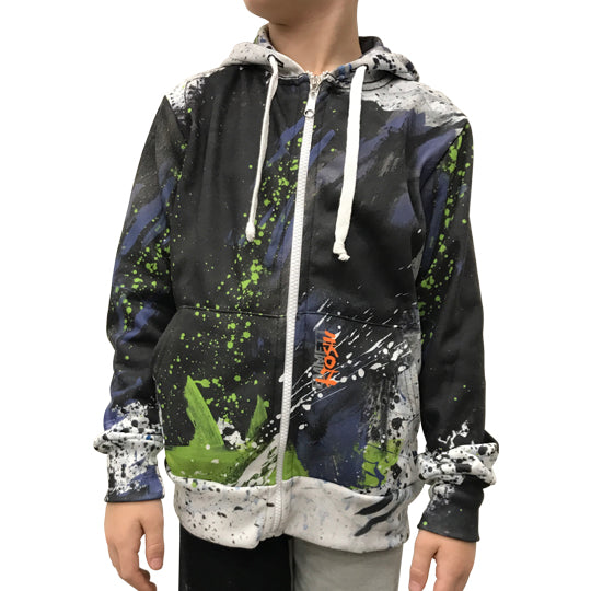 Taz Unisex Youth Zip-Up Hoodie