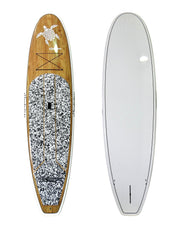 "10'6"" x 32"" Timber White Turtle Thermo Mould Alleydesigns SUP"