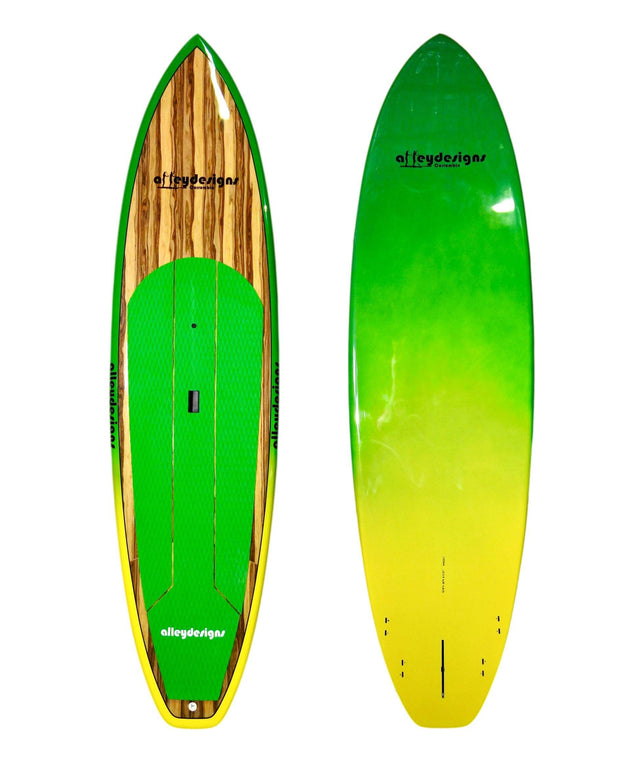 "11' x 32"" Aussie Timber Performance Alleydesigns SUP 11 KG"