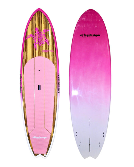 "10' x 32"" Timber Pink Turtle Performance Alleydesigns SUP - Alleydesigns  Pty Ltd                                             ABN: 44165571264"